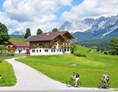 Biohotel: Bio-Pension Aussacher im Sommer - BIO-Pension Aussacher