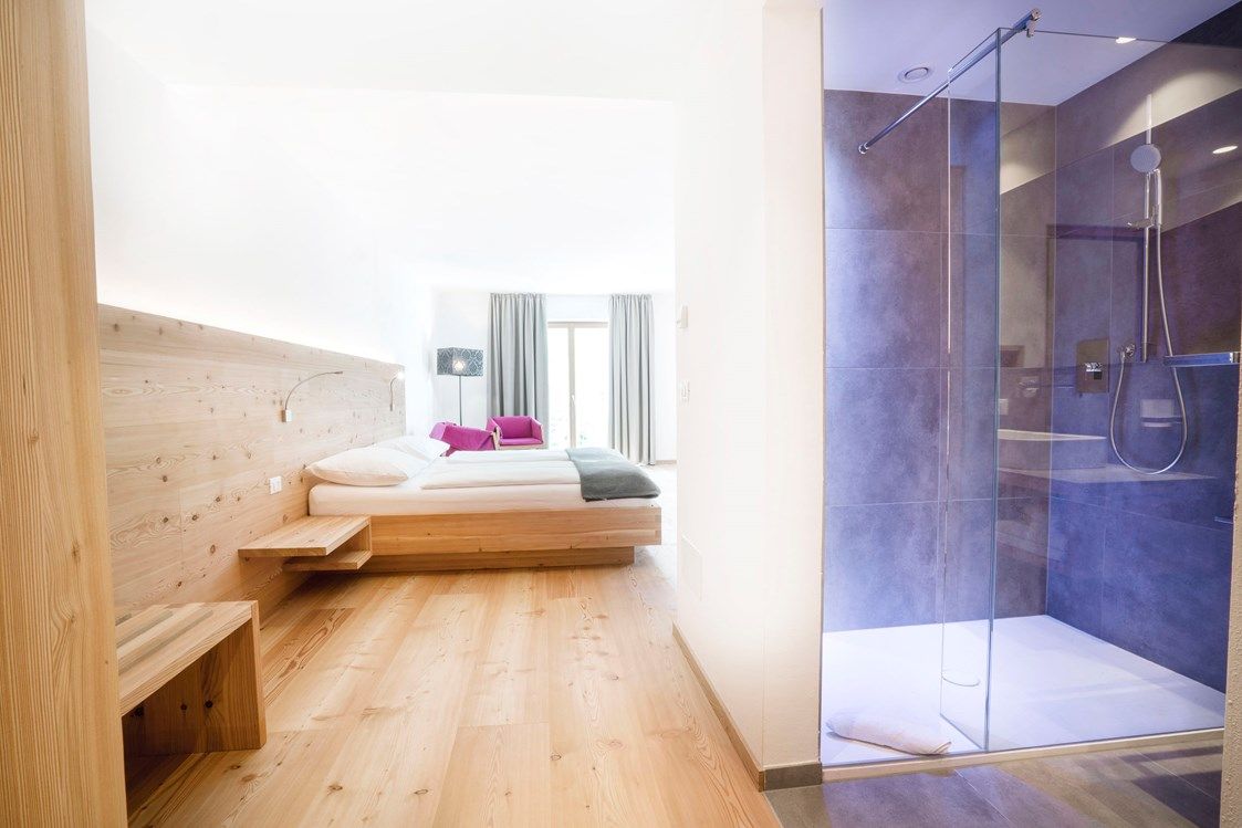 Biohotel: Gut schlafen in der Bird Junior Suite - Vegan Hotel LA VIMEA